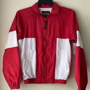 Game Sportswear Vintage Zip Up Windbreaker Jacket
